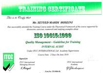 استاندارد ایزو 10015 تدبیر وب